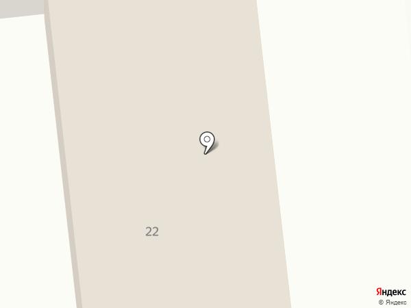 Карандаш на карте Юбилейного
