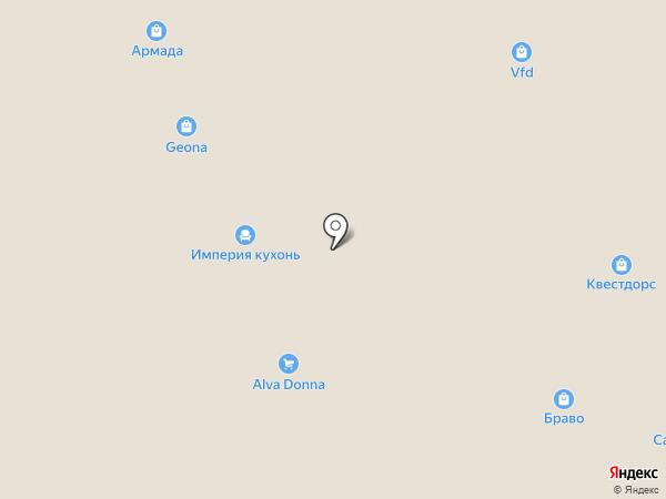 Вентмаркет на карте Реутова