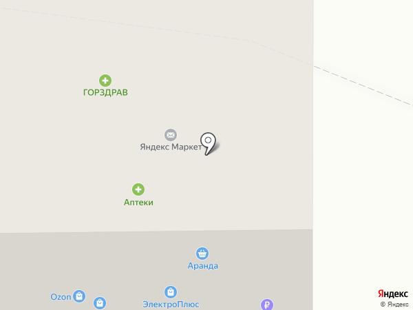 Карандаш на карте Королёва