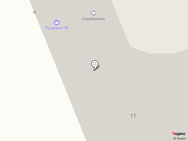 Мортадель на карте Пушкино