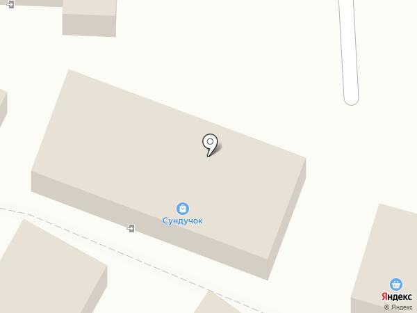 Сундучок на карте Ясиноватой