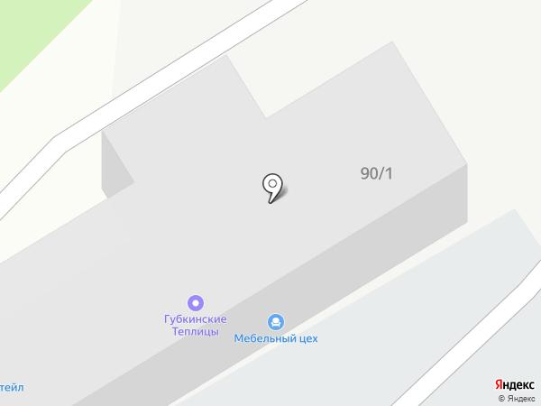 Сеть магазинов мебельной фурнитуры на карте Старого Оскола