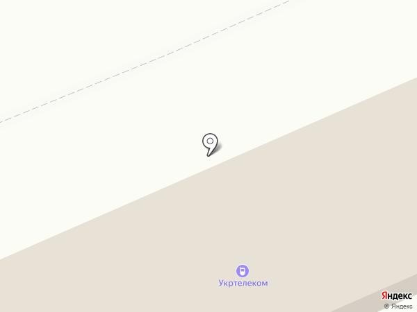Отделение электросвязи на карте Ясиноватой