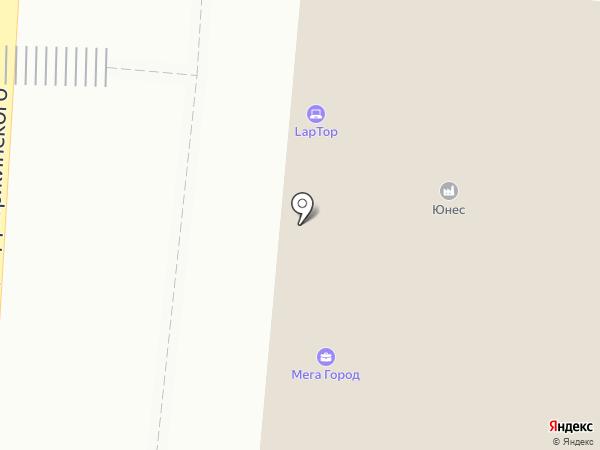Юнес на карте Королёва