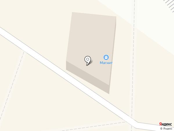 Магнит на карте Ясиноватой