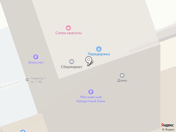 Корус на карте Реутова