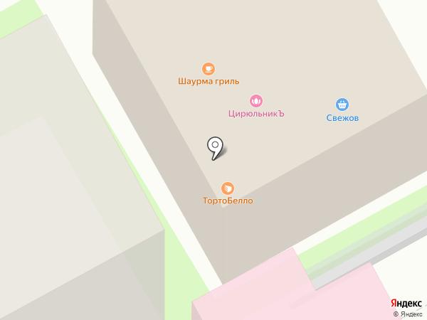 СВЕЖОВ на карте Пушкино
