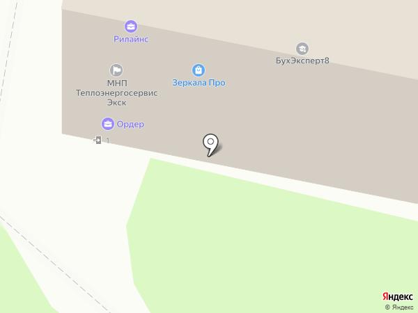 Praleska на карте Реутова