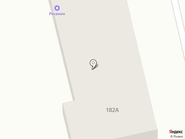 Кошёлка на карте Ясиноватой
