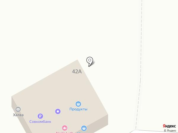 Малина на карте Дзержинского