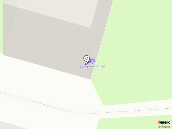 Парикмахерская на карте Пушкино