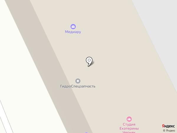 Технология переработки на карте Пушкино