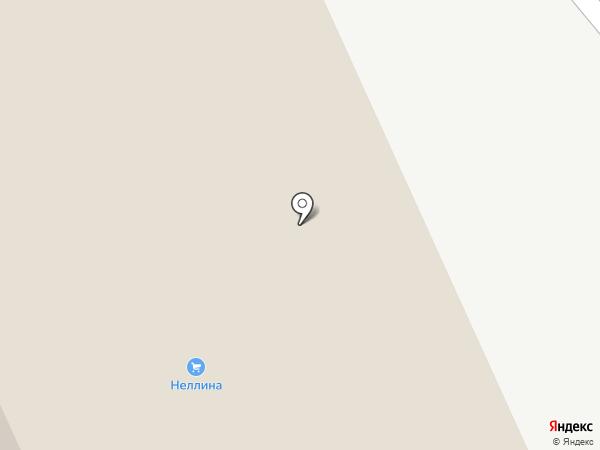 Неллина на карте Старого Оскола