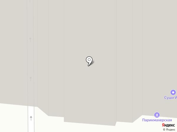 Салон-парикмахерская на карте Дзержинского