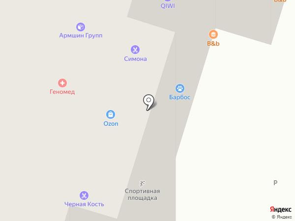 Разливайка на карте Котельников