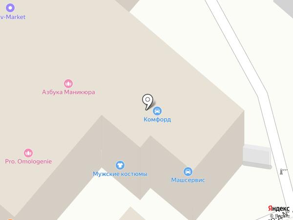 Родиал на карте Люберец