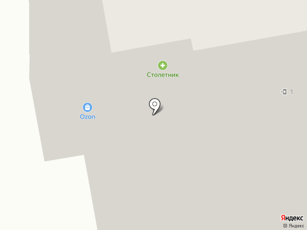 Магазин мясной продукции на Советской на карте Реутова