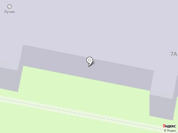 Лучик на карте Реутова