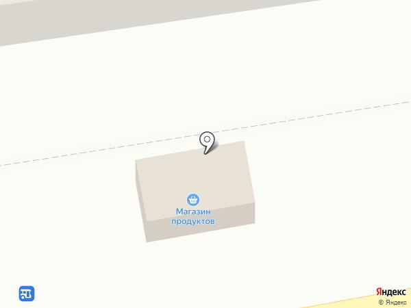 Продовольственный магазин на ул. Черняховского (Червоногвардейский) на карте Макеевки