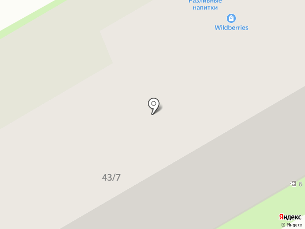 Магазин разливных напитков на карте Пушкино