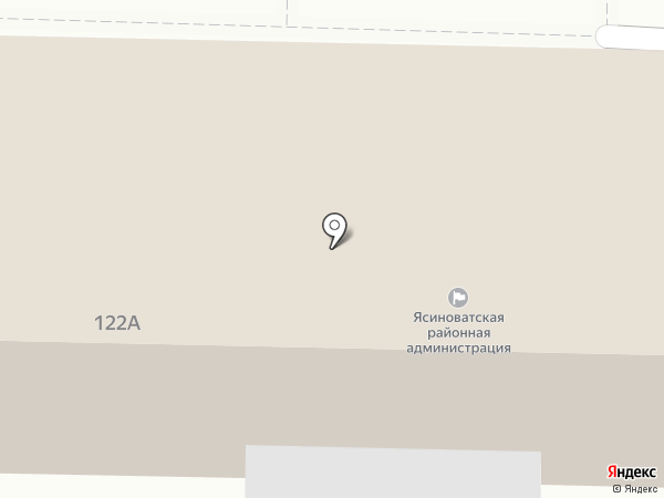 Ясиноватская нива на карте Ясиноватой