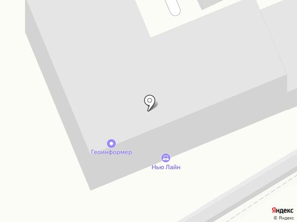 Нью Лайн на карте Юбилейного