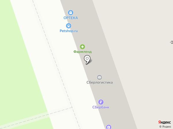 Подворье на карте Реутова