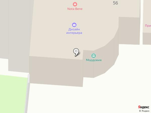 Анабель на карте Пушкино