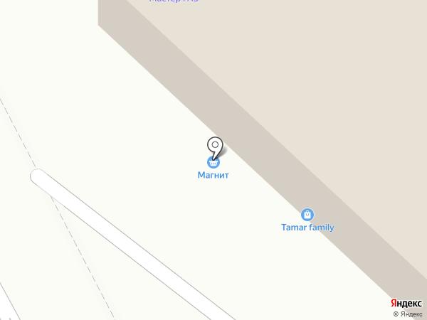 Магнит на карте Пушкино