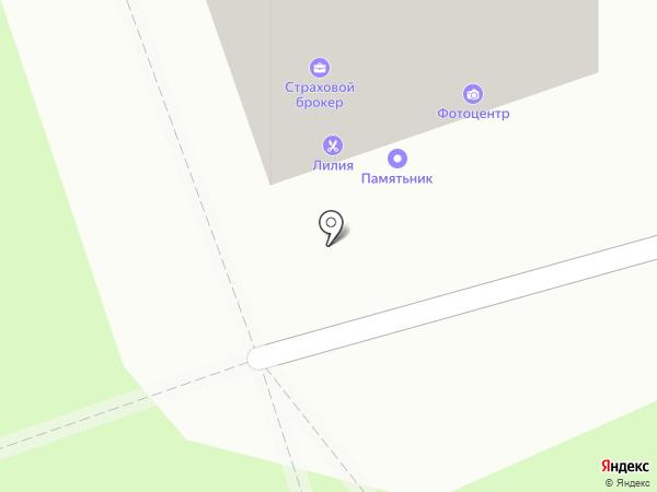 Парикмахерская на карте Реутова