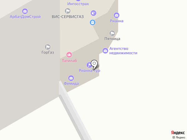 Офис №5 на карте Пушкино