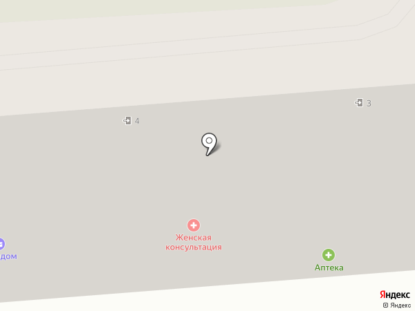 Аптека 003 на карте Макеевки