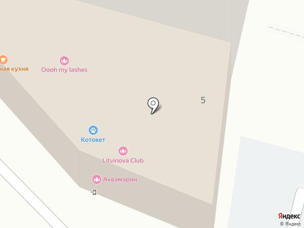 Марелла на карте Люберец