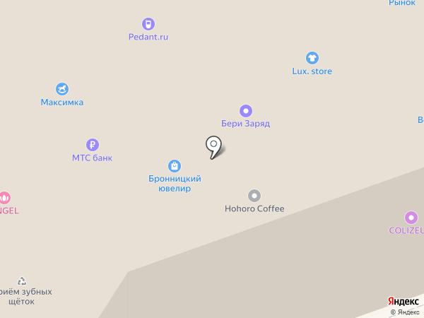 Волшебный пузырек на карте Реутова