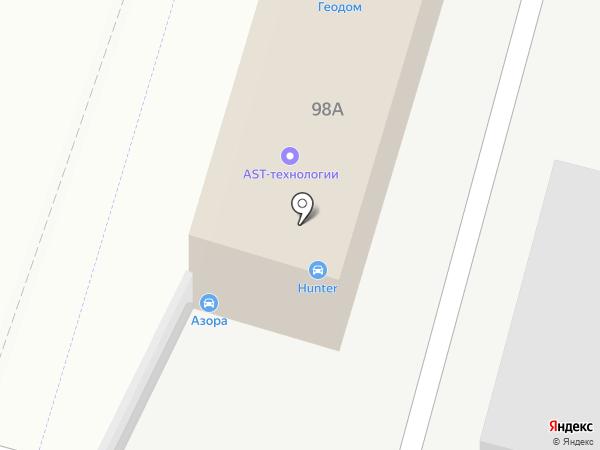 Алмаз на карте Люберец