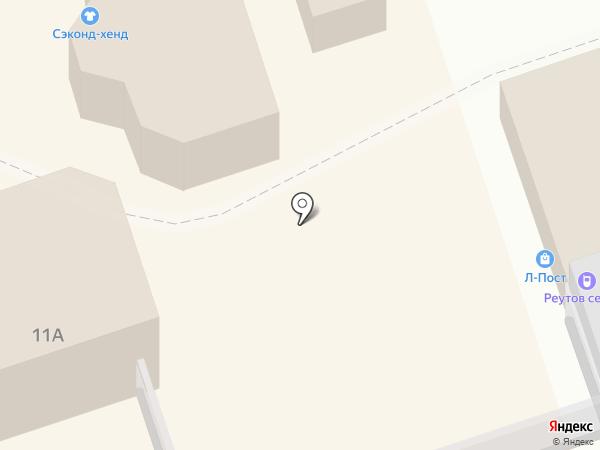 Магазин фастфудной продукции на ул. Дзержинского на карте Реутова