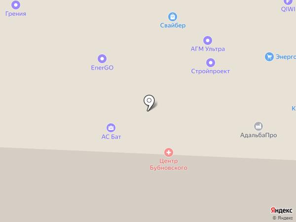 ДорГорСтрой на карте Москвы