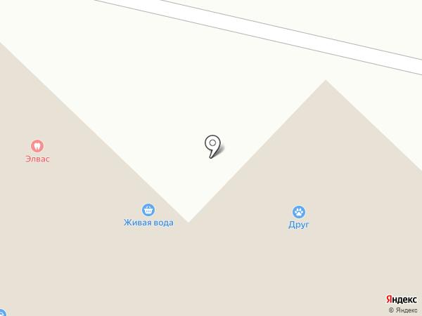 Элвас на карте Молоково