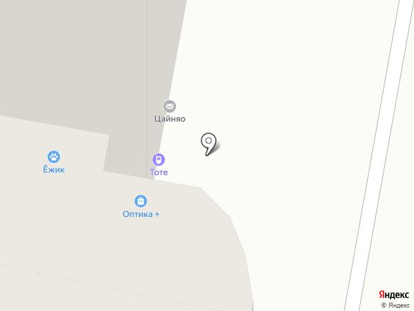 Салон оптики на карте Реутова