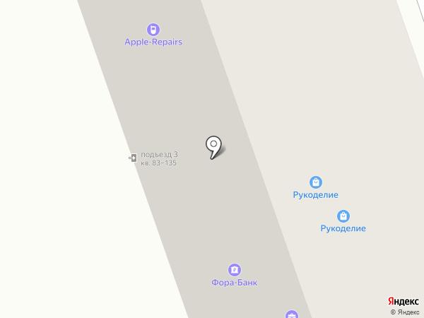Милагро на карте Реутова