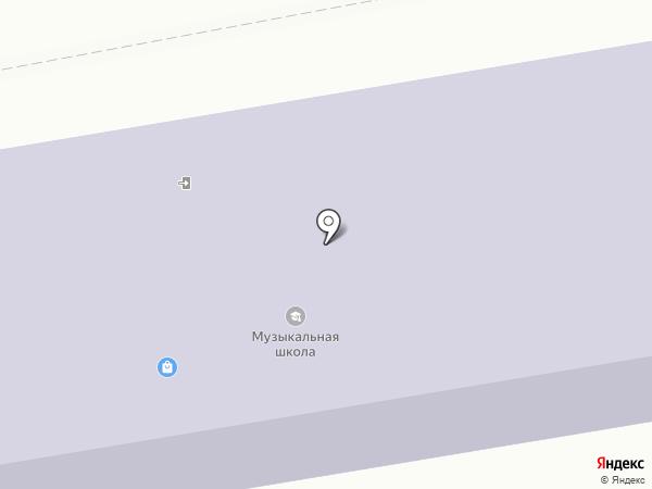 Школа искусств №3, г. Макеевка на карте Макеевки