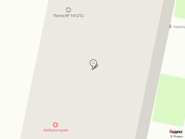 Почтовое отделение №141212 на карте Лесных Полян