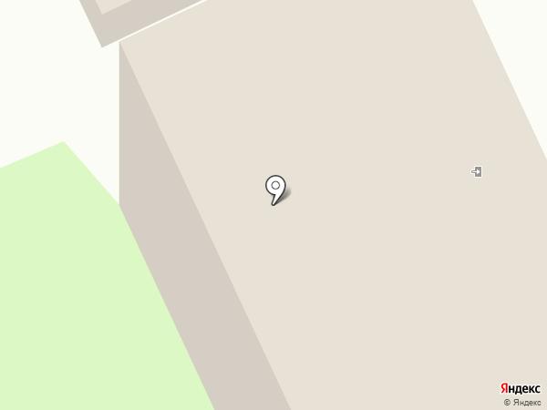 Гостиница на карте Пушкино