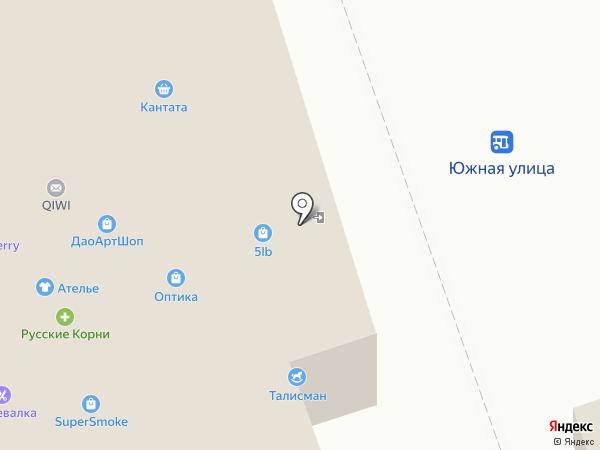 Бельеза на карте Реутова