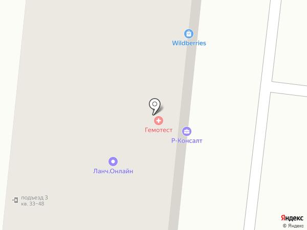 КБ Ренессанс на карте Реутова