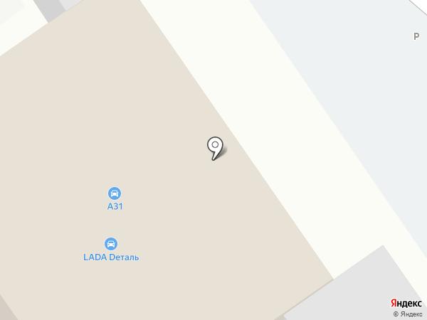 Автолюкс на карте Старого Оскола