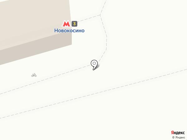 Метроторг на карте Реутова