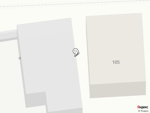 Синтез на карте Старого Оскола
