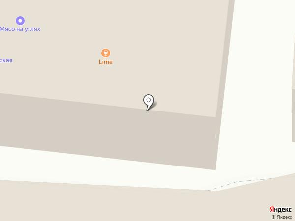 Славян Плаза на карте Реутова