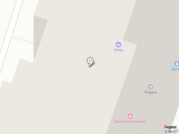 Мирель на карте Люберец